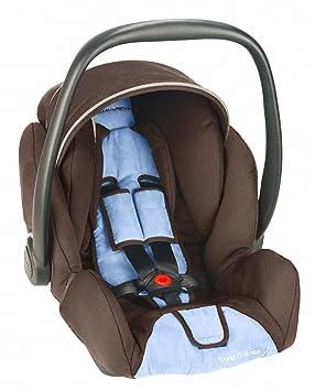 Maclaren Car Seat XLR Recaro Coffee/Soft Blue: Amazon.co.uk: Baby