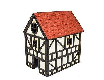 War World Gaming Medieval Town - Casa Medieval de Doble ...