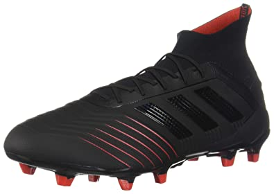 a5f0c69118cb adidas Predator 19.1 FG Cleat - Men's Soccer Core Black/Action Red