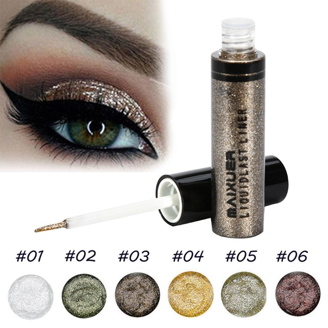 Amazon Datework Glitter Liquid Eyeliner Eye Shadow Shining Eye
