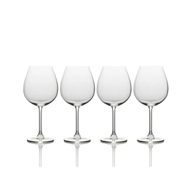 Mikasa Julie Red Wine Glass, 25-Ounce, Set of 4