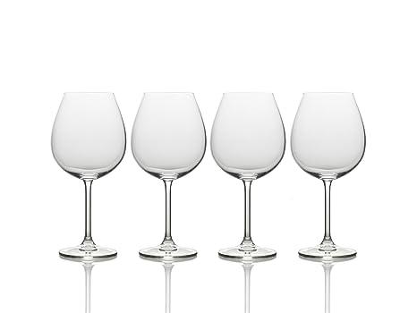 1934e4cdde3 Mikasa Julie Red Wine Glass, 25-Ounce, Set of 4