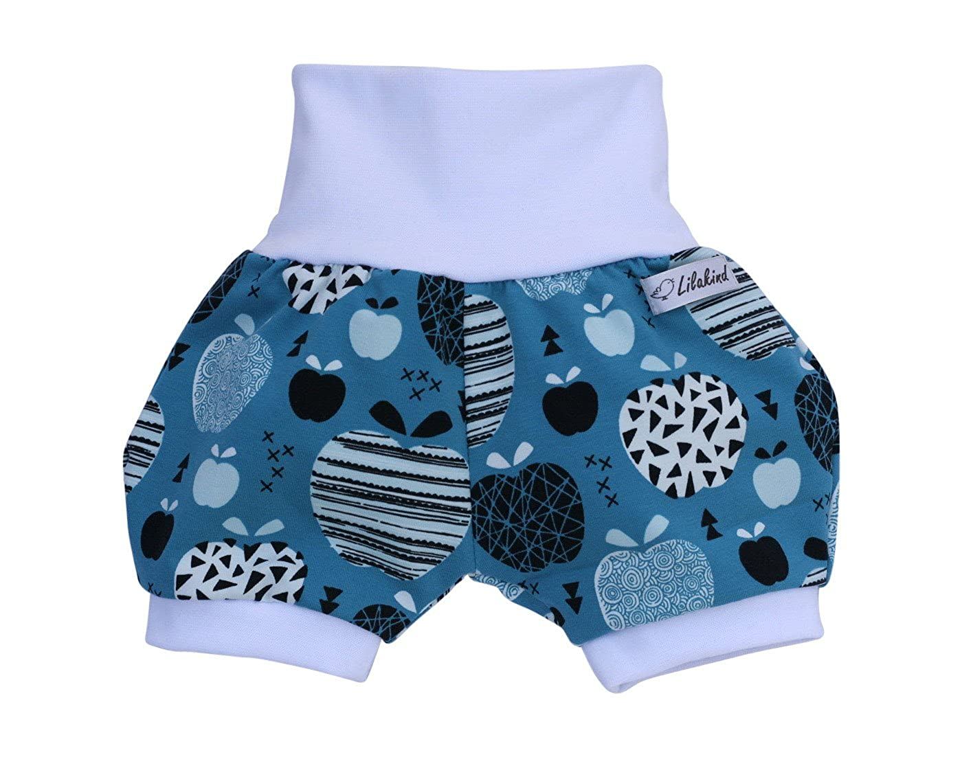 Lilakind Kurze Pumphose Shorts Buxe Sommerhose Prinzessin Motiv
