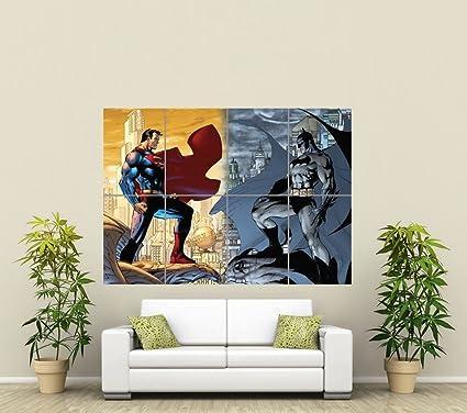 BATMAN VS SUPERMAN GIANT WALL ART POSTER ST285