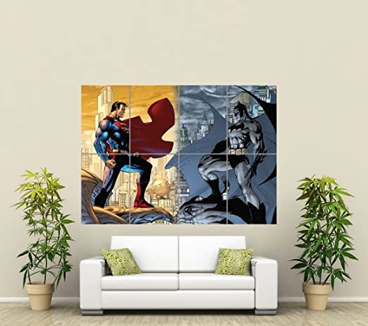 Merveilleux Amazon.com: BATMAN VS SUPERMAN GIANT WALL ART POSTER ST285: Posters U0026 Prints