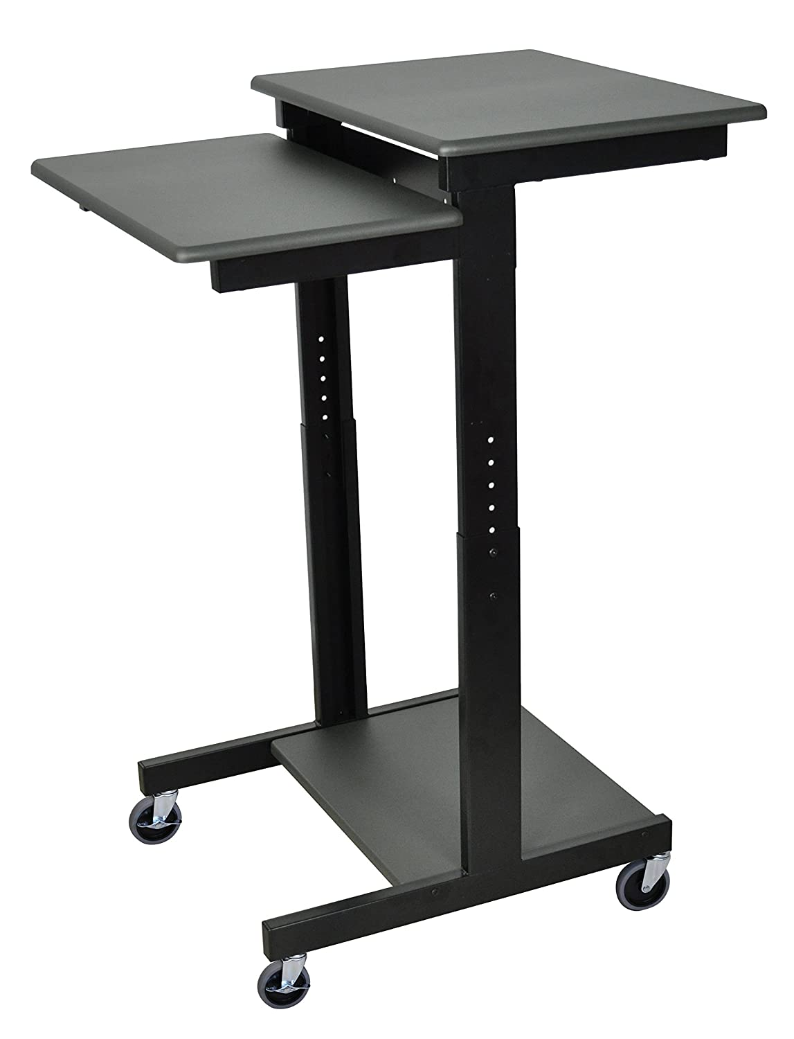 Amazon.com: Luxor PS3945   Adjustable Height Presentation Workstation  Computer Desk: Kitchen U0026 Dining