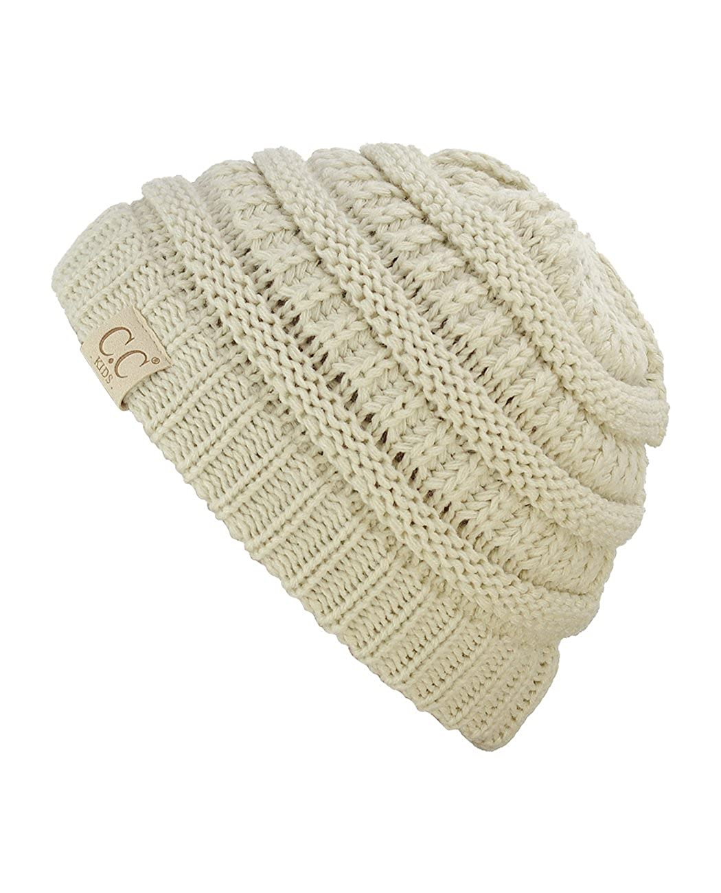 C.C NYFASHION101 Kids Cute Warm and Comfy Childrens Knit Ski Beanie Hat