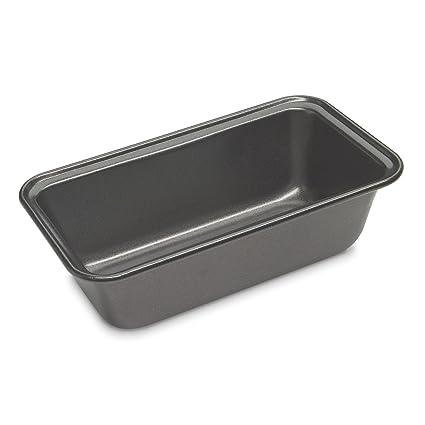 Cuisinart CMBM-4LP 4 Piece Mini Loaf Pan Set, Small, Black