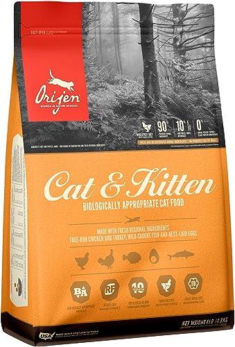 ORIJEN High-Protein, Grain-Free, Premium Quality Meat, Dry Cat Food
