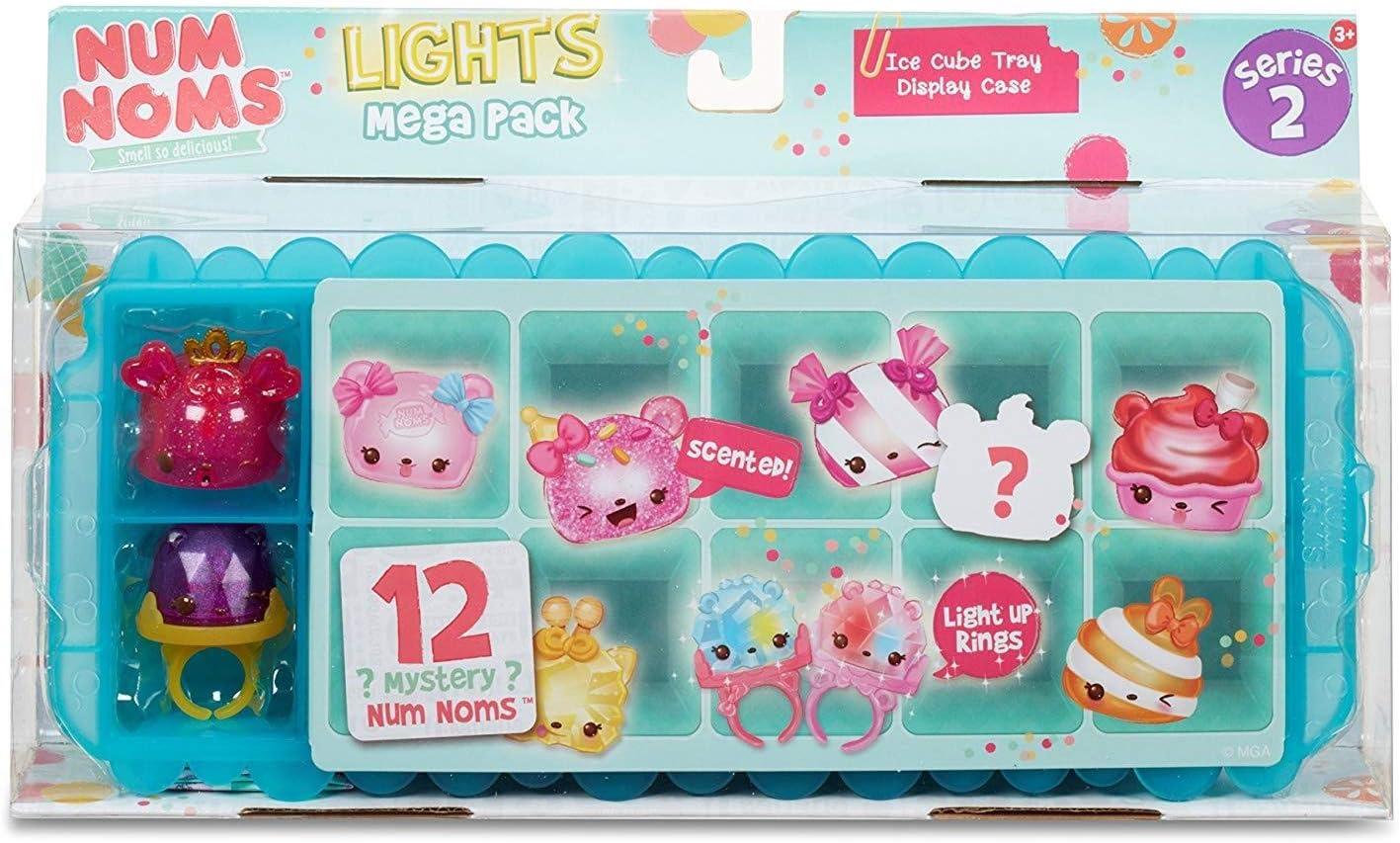 MGA Entertainment Num Noms Lights Mega Pack - Style 1 Cocina y Comida Estuche de Juego - Juegos de rol (Cocina y Comida, Estuche de Juego, 3 año(s), Niño, Niño/niña, Multicolor): Amazon.es: