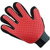 Pet Grooming Glove - Gentle Deshedding Brush Glove - Dog or Cat Pet Hair Remover Mitt