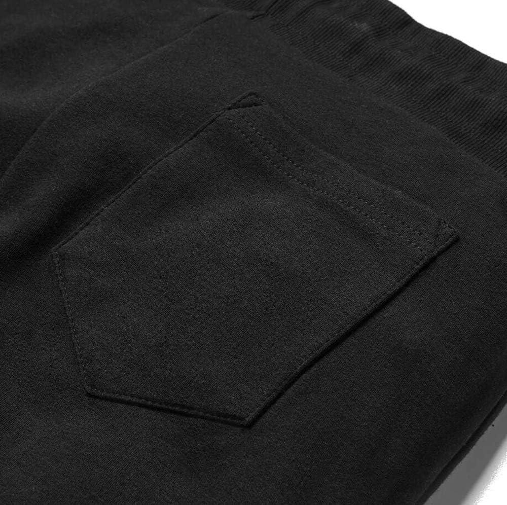Pantaloni da Jogging con Chiusura E Tasca FLYFIREFLY Pantaloni da Palestra da Uomo