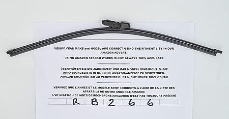 Limpiaparabrisas trasero de 41 cm RB266, 41 cm