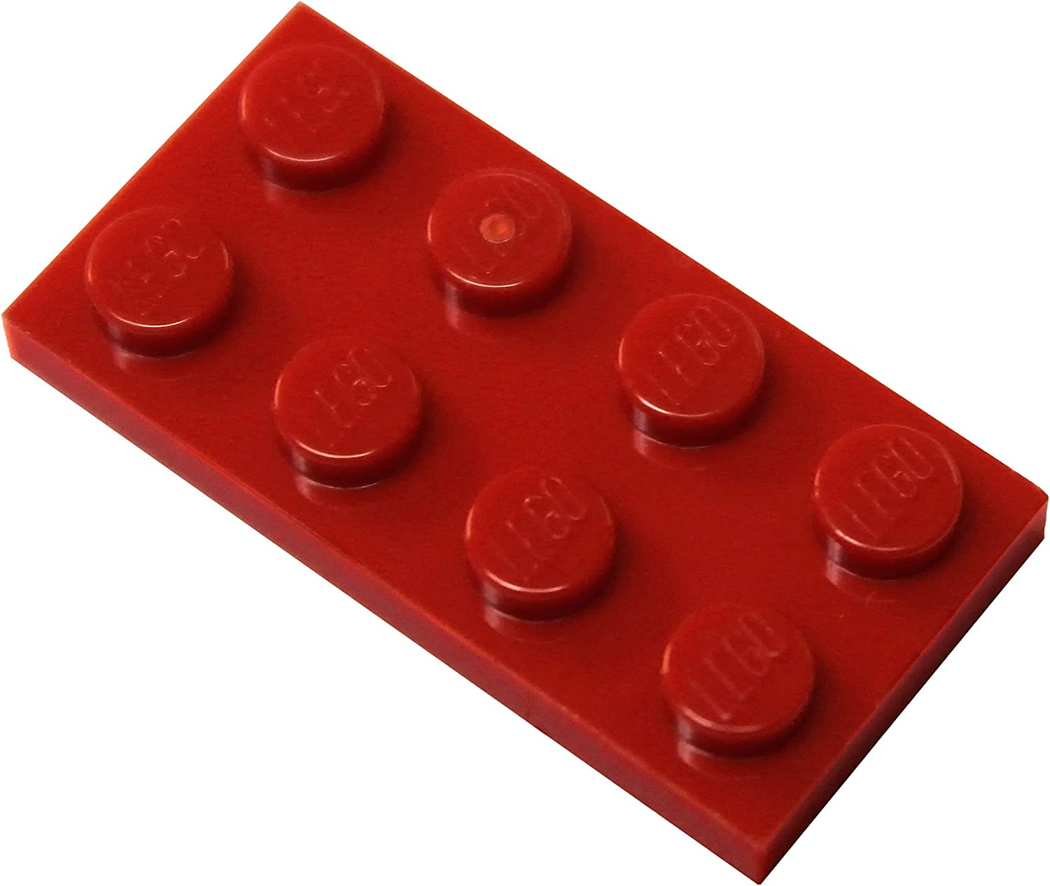 LEGO Parts and Pieces: Dark Red 2x4 Plate x100