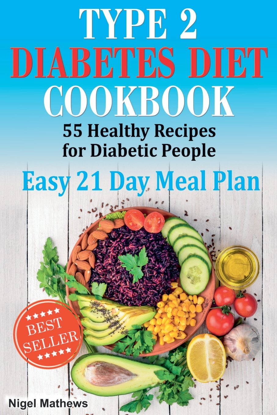 Type 2 Diabetes Diet Cookbook Meal Plan 55 Healthy Recipes For