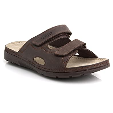bf7b5c40692b4 Batz Mike Leather Slip-On Mens Sandals Clogs: Amazon.co.uk: Shoes & Bags