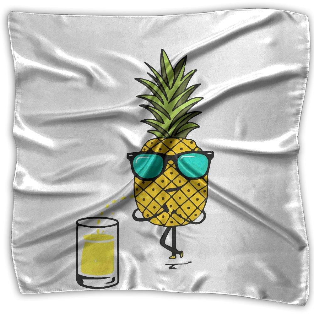 Pineapple Juicy Sunglass Printed Square Scarf Scarve Head Wrap Shawl by Jasonasd