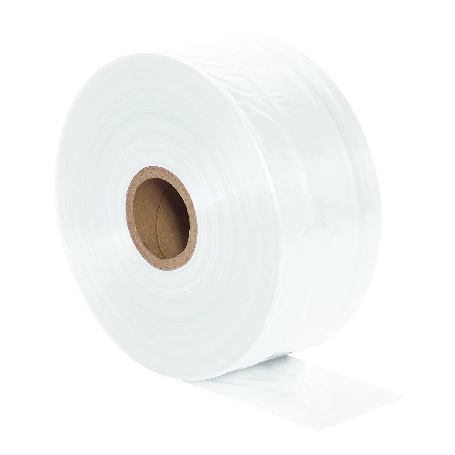 """Aviditi Poly Tubing Roll, 1075' X 3"""", 4 mil Thick, Clear (PT0304)"""