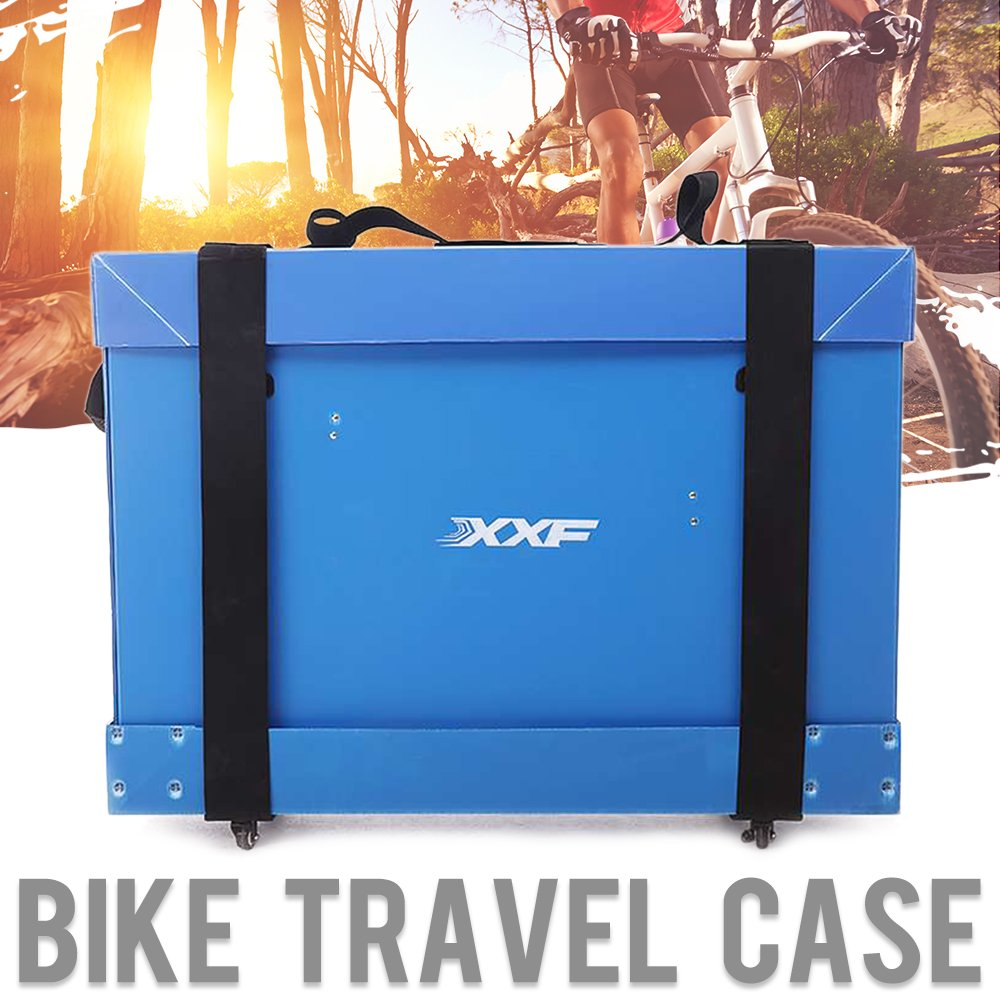 "Muses Poem Bicycle Case Bike Travel Light Case for 26''/700C/27.5''/29"" Mountain Road Bicycle"