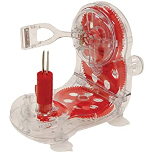 Starfrit 092999-006-RED1 Apple Peeler, Red