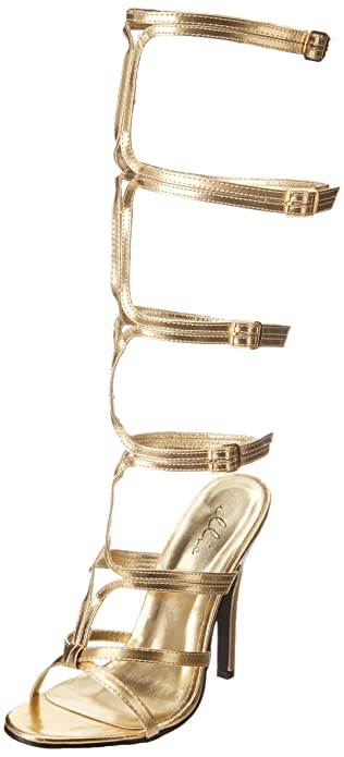 Ellie Shoes Women's 510 Sexy Gladiator Sandal, Gold, ...