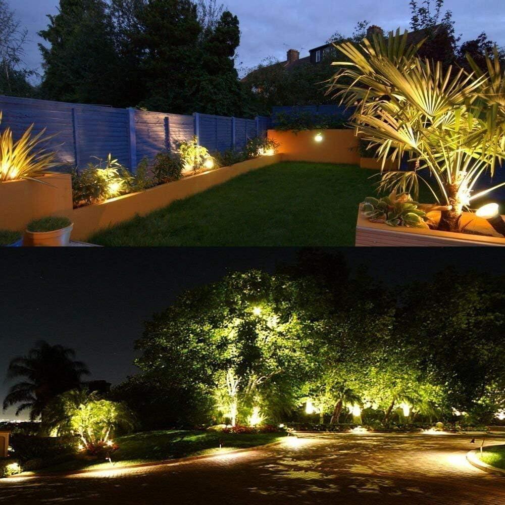 ProGreen Outdoor LED Landscape Lights 1 Pack, 10W 3000K Waterproof ...