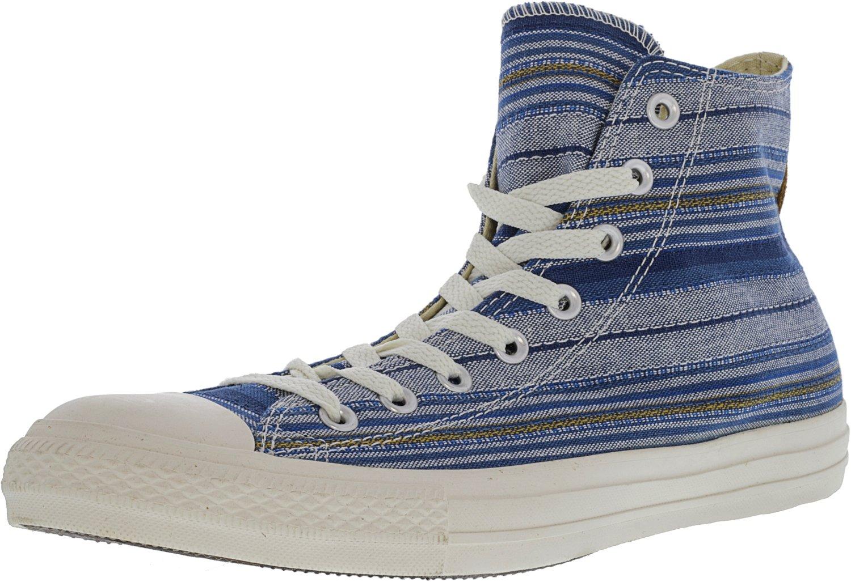 Converse Chuck Taylor All Star Leather High Top Sneaker B00LV4WCAU 12 M US Women / 10 M US Men|Midnight Hour