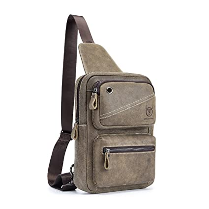 21fc4645ff Men Genuine Shoulder Bag
