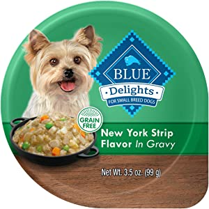 Blue Buffalo Divine Delights Natural Adult Small Breed Wet Dog Food Cups