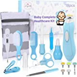 Baby Healthcare and Grooming Kit, 18 in 1 Baby Electric Nail Trimmer Set, Lupantte Nursery Care Kit, Baby Thermometer…