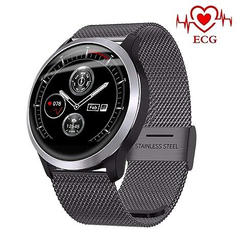 Amazon.com: HX0945 Z03 Smartwatch ECG PPG IP68 Waterproof ...
