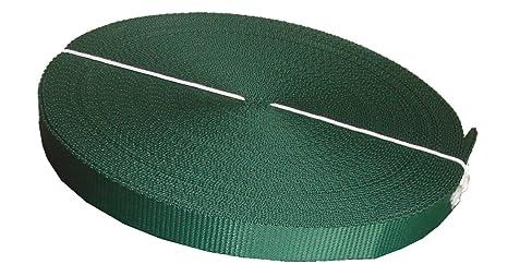 Cincha para cinta de flejado 25 mm polipropileno, Verde, ...
