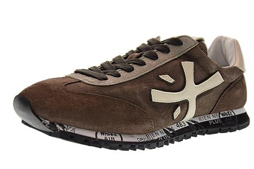 PREMIATA Scarpe Uomo Sneakers Basse Mat 2302 Marrone Taglia 45 Marrone eb9bd1f88d4
