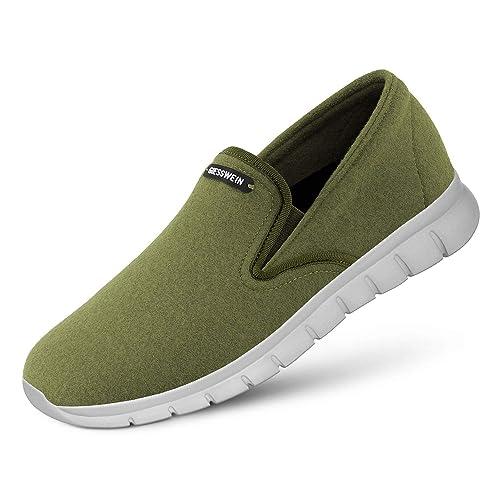 Giesswein - Mocasines de Lana para Hombre: Amazon.es: Zapatos y complementos