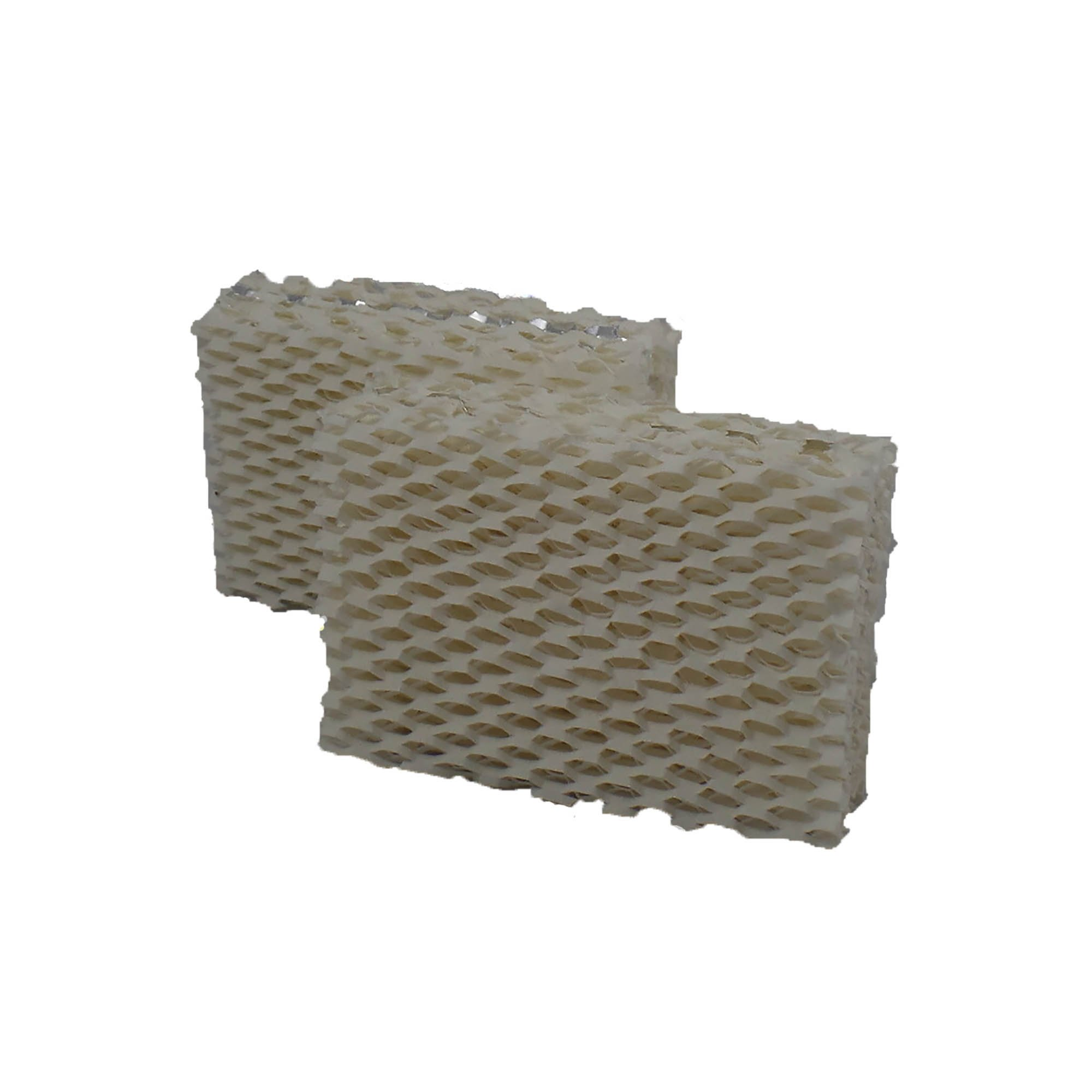 Air Filter Factory 2 PACK Compatible Replacement For Duracraft AC-813 Humidifier Filters
