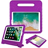 HDE iPad Mini 4 Case For Kids - Shock Proof Rugged Heavy Duty Impact Resistant Protective Cover Handle Stand For Apple iPad Mini 4