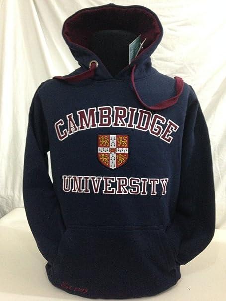 Cambridge University - Sudadera con Capucha - para Hombre: Amazon.es: Ropa y accesorios