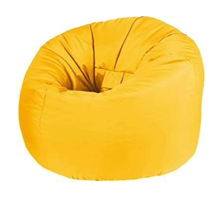 Beautiful Beanbags Yellow Outdoor Kids Classic