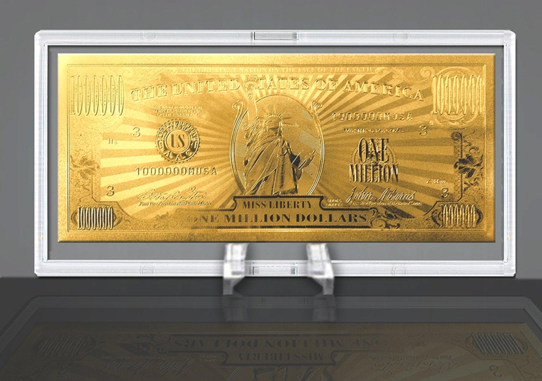 American Art Classics Gold Million Dollar Bill Commemorative by American Art Classics (Image #1)