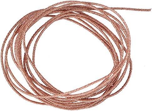 2M Zer one Speaker Wire Leads Subwoofer Lead Wire Cable Repair 8 Strands Braided Pure Copper Wire