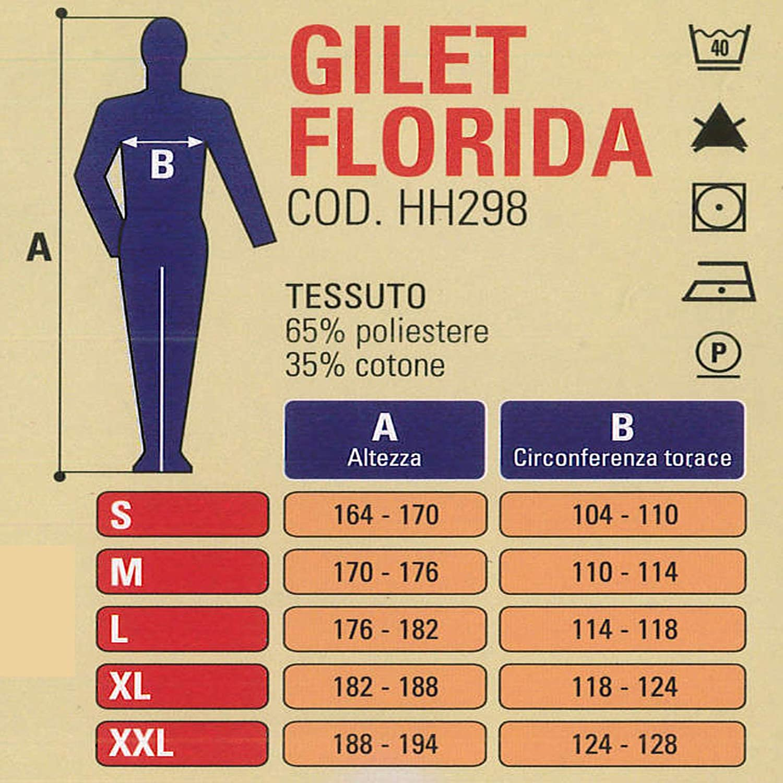 M Blu Rossini Trading HH29801HM Gilet Florida