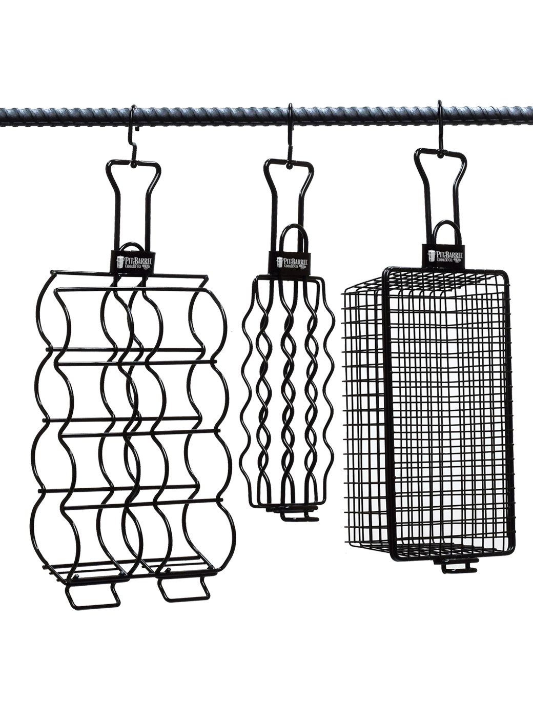 Hngr Grill Baskets 3pc by Pit Barrel Cooker