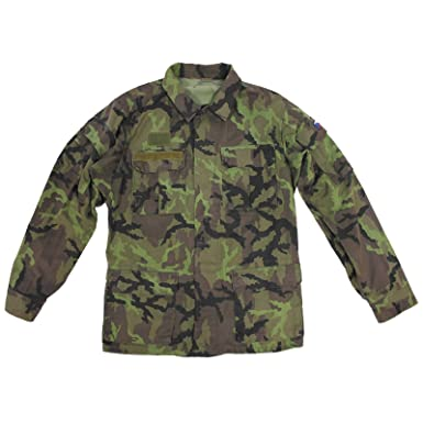 7cfd4bd2f7b Czech Army Genuine Issued Camouflage M95 Field Jacket  Amazon.co.uk   Clothing