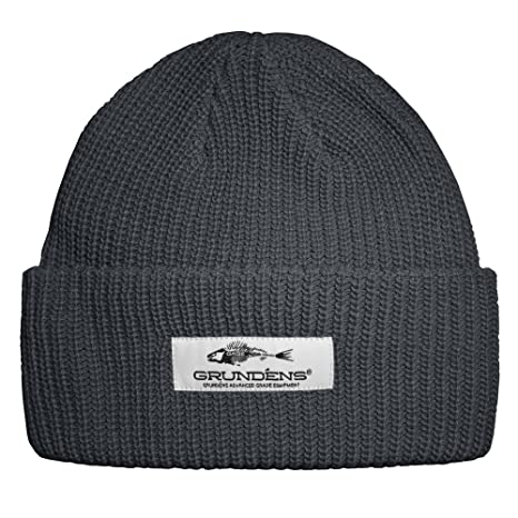96428fd57ca Amazon.com   Grundens Watch Cap   Dark Slate   Sports   Outdoors