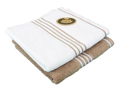 Gözze Rio 140-83-A4 toalla de mano, 2 unidades, 50/