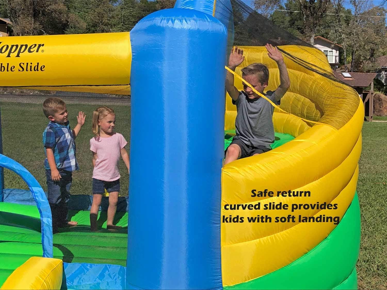 Island Hopper Jump Party Recreational Bounce House