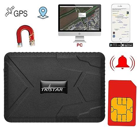 TKSTAR GPS Tracker en Tiempo Real, 10000 mAh batería Fuerte ...