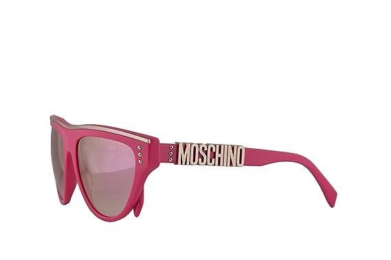 Amazon.com: Moschino MOS002/S MOS002S MOS002S - Gafas de sol ...