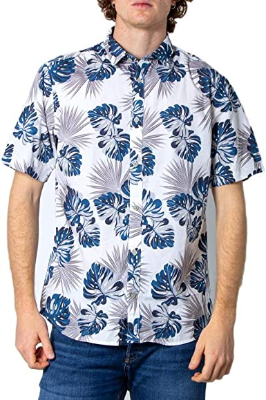 Only & Sons Onstimothy SS Floral Shirt Re Camisa Casual para Hombre: Amazon.es: Ropa y accesorios