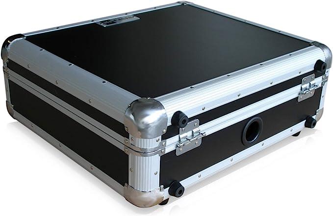 Maletín para tocadiscos Technics Turntable DJ Flightcase Rack ...